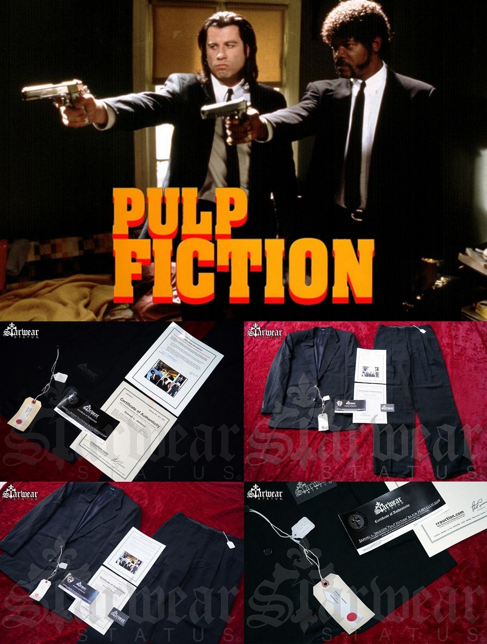 Samuel L Jackson Pulp Fiction Screen Worn Used Hero Movie Prop Suit W Full Documentation Holy Grail Starwear Status