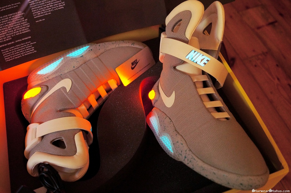 5abadfcfb41 RARE Nike Air Mags Back To The Future II Light Up LED Sneakers ...