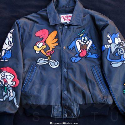 4efaa817c2d8 Looney Tunes Leather Jacket – Starwear Status