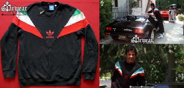 02b95745d76 1980's Adidas ROCKY BALBOA IV Vintage Retro Italian Stallion Sweater Men's  - Large Very Rare! (Will Fit Medium)