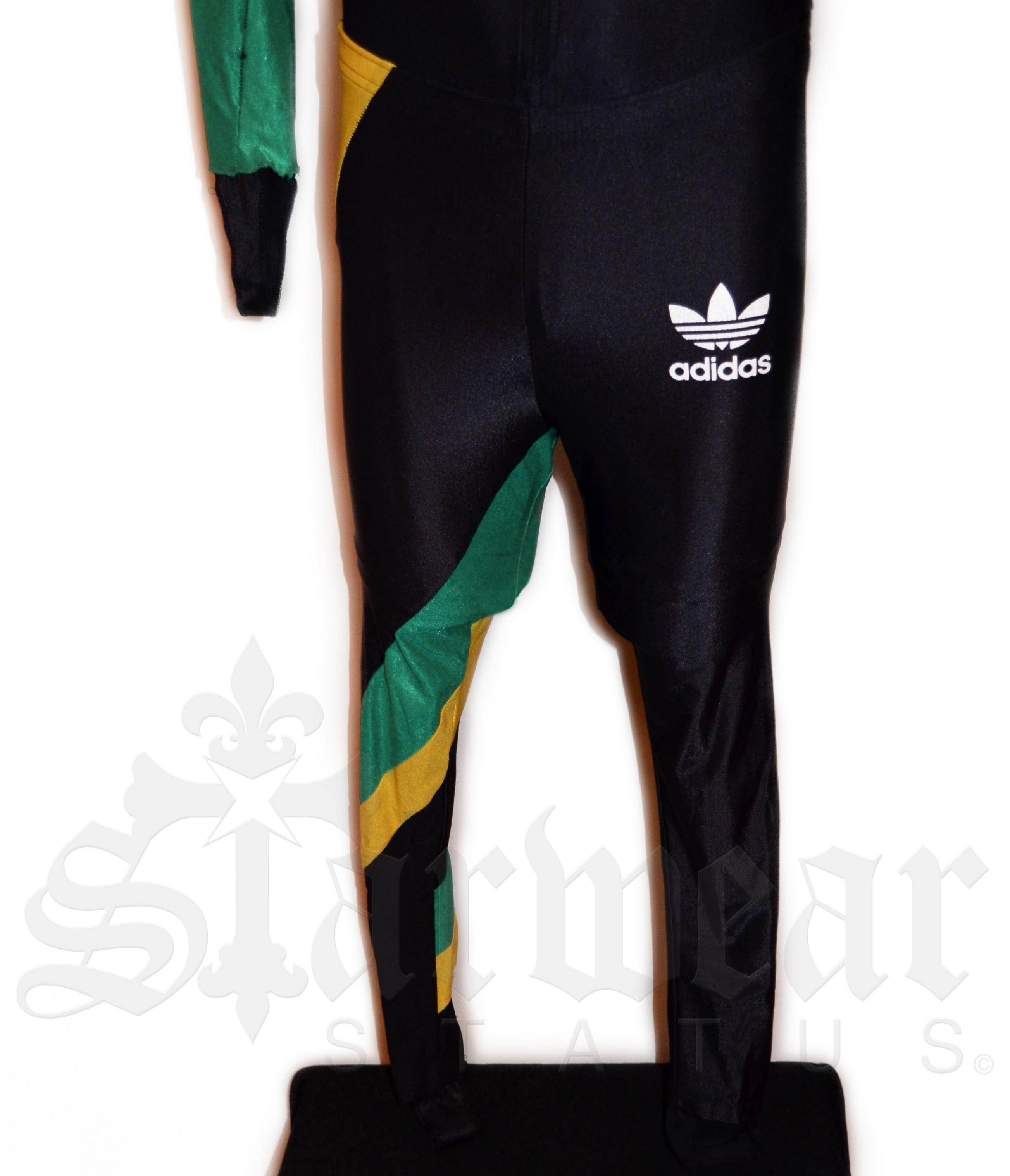 "Cool Runnings (1993) ""Vintage Adidas Jamaican Bobsled Uniform"" (Screen Worn By Sanka)"