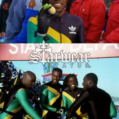 "Cool Runnings (1993) ""Vintage Adidas Jamaican Bobsled Uniform"" (Screen Worn By Sanka)"