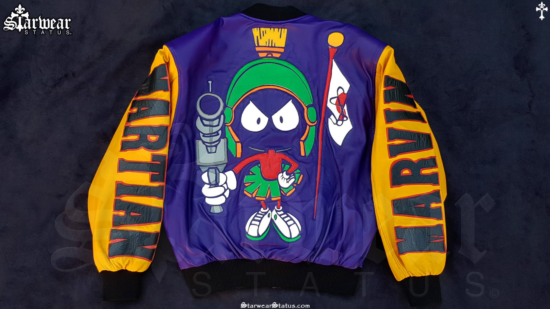 90's Marvin The Martian Leather Warner