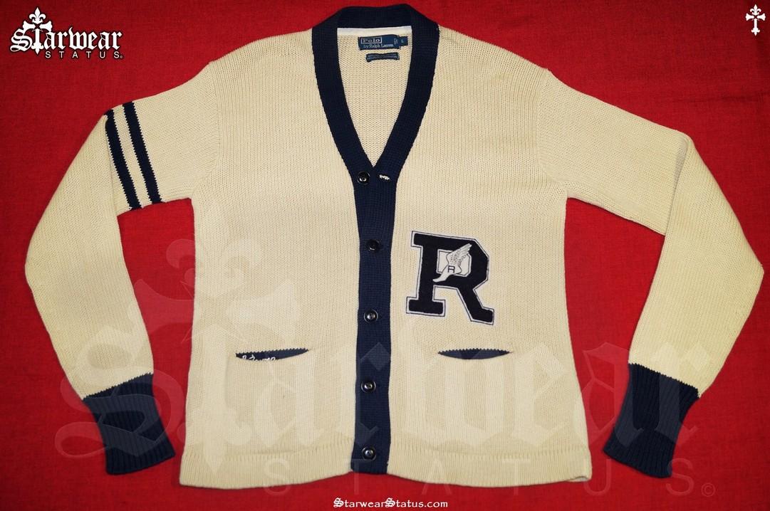 e16a3ff7d1be6 Vintage 90 s Ralph Lauren Polo Sport Varsity Letterman Sweatshirt ...